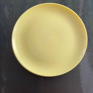 VTG MCM Yellow Speckled Melmac Dinner Plates (10)